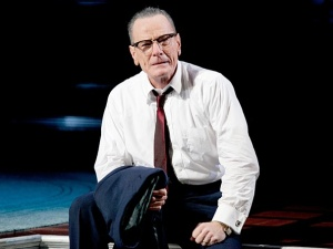 "Bryan Cranston plays Lyndon Baines Johnson in ""All the Way."""