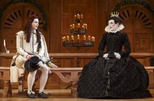 "Samuel Barnett, left, and Mark Rylance in ""Twelfth Night."""