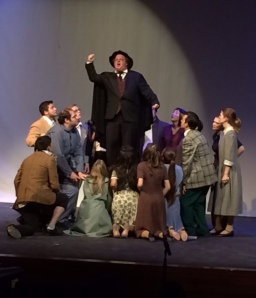 """Clark Reed as Max Bialystock in """"The Producers."""" The 2014 show was presented by Lamar State College-Port Arthur and Port Arthur Little Theater."""