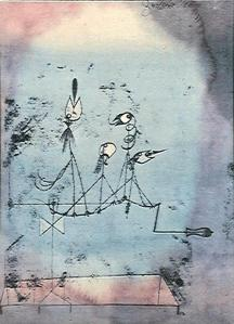 "Paul Klee's ""Twittering Machine."""