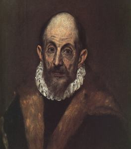 """El Greco """"Self Portrait"""""""