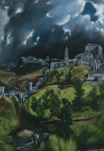"El Greco ""View of Toledo"""