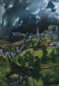 """El Greco """"View of Toledo"""""""