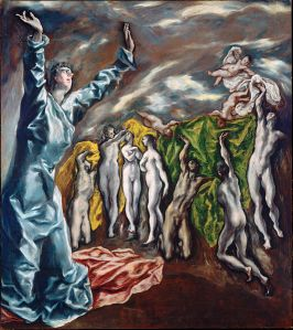 "El Greco ""The Vision of St. John"""