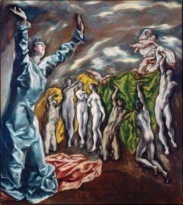 "El Greco ""The Vision of St. John"""