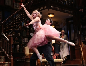 """Annaleigh Ashford and RegRogers in """"You Can't Take It With You."""""""